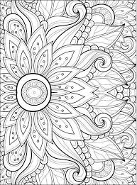 Adult Coloring Pages Flowers 2 2 …