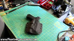 glock 22 light bearing holster glock kydex holster with surefire x300 tac light youtube