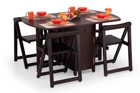 Small Folding Kitchen Table by Small Folding Kitchen Table And Chairs With Concept Image 1086