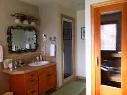 Bed And Breakfast Fireplace by Bathroom Of The Woodland Room Comfy Jacuzzi Tub Double Sided Gas