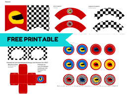 free racing car printable party ideas free racing