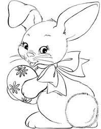 conejitos pascua fotos dibujos colorear conejo