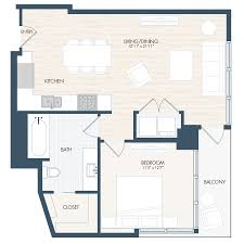 Plan 888 15 by Luxury Apartment Floor Plans Denver The Confluence Denver