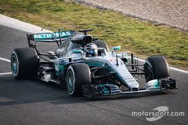 mercedes barcelona valtteri bottas mercedes amg f1 w08 at barcelona pre season testing i