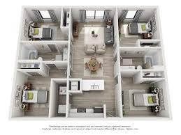 4 Unit Apartment Building Plans Floor Plans The Ruckus Lofts Austin Apartments
