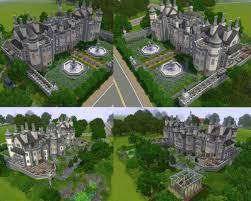 mod the sims the white mansion