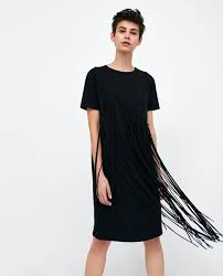 sleeve black dress women s dresses new collection online zara united states