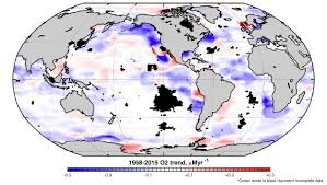 Gatech Map Decades Of Data On World U0027s Oceans Reveal A Troubling Oxygen