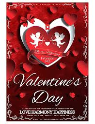 valentines day flyer template free partypix me