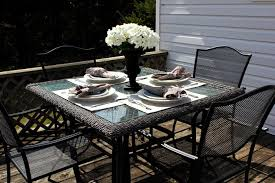 diy no sew outdoor placemats the creek line house