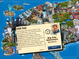 Little Italy New York Map by Big City Adventure New York City Screenshots For Ipad Mobygames