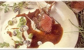 cuisiner du marcassin côtelettes de marcassin aux oranges recette la maison du gibier
