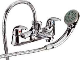 Bathroom Shower Mixer Hansvit T04 Serie 11 Bath Shower Mixer Chrome Co Uk Diy