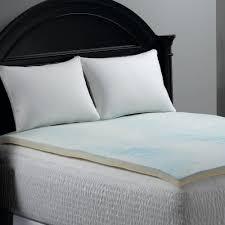 Gel Memory Foam Topper Bedroom Excellent White Queen Memory Foam Mattress Topper For