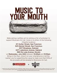 gift card fundraiser san francisco bay area chipotle restaurants are hosting a