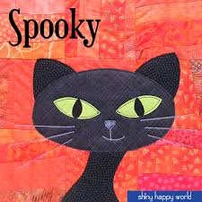 spooky a free black cat applique pattern more cat applique