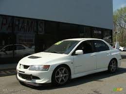 white mitsubishi lancer 2005 wicked white mitsubishi lancer evolution viii 28247186