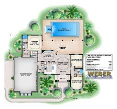 Italian Villa Floor Plans Villa Siena Home Plan Weber Design Group Naples Fl