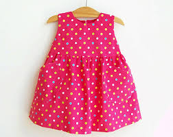 dotted baby dress pattern sewing pdf easy