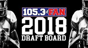 105 3 the fan listen live 105 3 the fan draft board 105 3 the fan