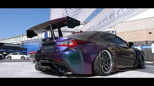 lexus rcf widebody wide body pandem lexus rcf armytrix work wheels toyo tires