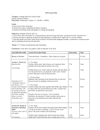 sample lesson plans advanced studies u2014 amanda meier
