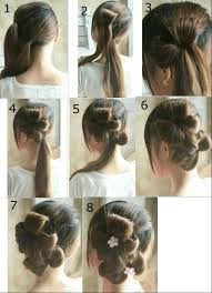 How To Do Easy Hairstyles Step By Step by Hairstyles To Do For How To Do Hairstyles Step By Step How To Make