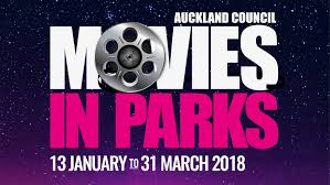 movies in parks 2018 auckland council