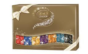 amazon com lindt lindor holiday deluxe sampler assorted