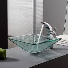 greenspring modern bathroom vesselbowl sink lavatory faucet tall
