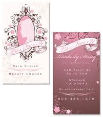 Beauty Spa Business Cards Boutique Beautiful Custom Business Card Design Portfolio