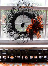 Easy Halloween Wreath by Easy Decorating U2026 A Halloween Wreath The Seasonal Home