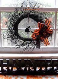 easy halloween wreath easy decorating u2026 a halloween wreath the seasonal home