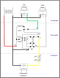 simple thermostat diagram 6 wire thermostat wiring diagram