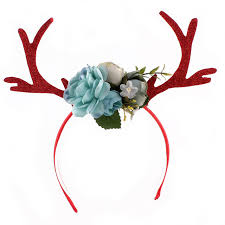 deer headband online shop christmas gifts children plum elk headwear
