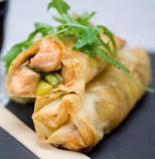 cuisiner des feuilles de brick recette de papillotes de saumon en feuille de brick recettes