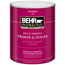 behr premium plus 1 qt multi surface exterior primer and sealer