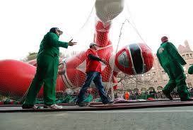 where was the first thanksgiving day parade held big balloons heavy security for nyc thanksgiving parade wtop