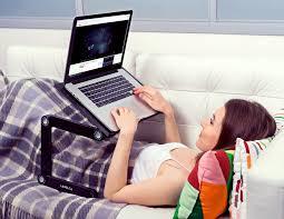 lavolta ergonomic laptop table desk tray holder folding adjustable