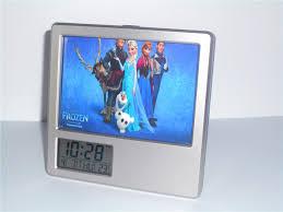 2017 new frozen elsa olaf creative digital alarm clock multi