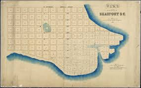 Beaufort Sc Map File Plan Of The City Of Beaufort S C As Allotted By U S Tax
