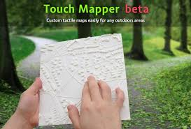 How Do Blind People Read Braille 3ders Org 3d Printing Tactile Maps For The Blind And Visually