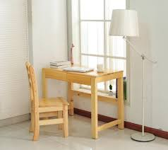 Diy Simple Wood Desk by Cheap Pure Solid Wood Desk Simple Desktop Computer Study Table Can