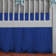 Pottery Barn Ruffle Crib Skirt Royal Blue Crib Dust Ruffle Baby Crib Design Inspiration