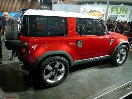 land rover discovery concept jaguar land rover including c x75 u0026 defender concept auto expo