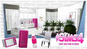 light and pink kitchen sims 4 youtube light and pink kitchen sims 4