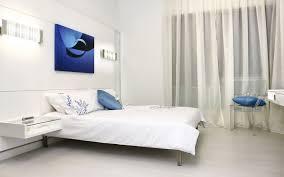 Two Tone Blue Bedroom White U0026 Blue Bedroom Hd Wallpaper Hd Latest Wallpapers