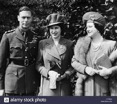 king george vi british royal family from left british king george vi future