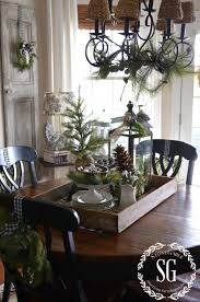 Kitchen Table Decoration by 245 Best Christmas Table Decorations Images On Pinterest