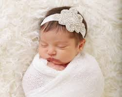 headband baby rhinestone baby headband baby bling headband jeweled headband
